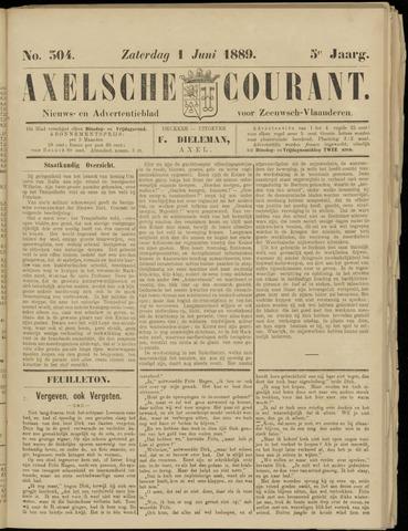 Axelsche Courant 1889-06-01