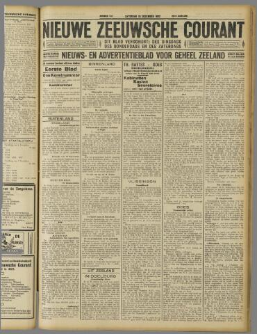 Nieuwe Zeeuwsche Courant 1927-12-10