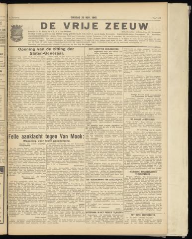 de Vrije Zeeuw 1945-11-20