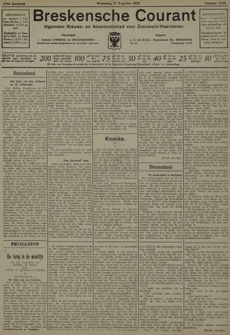 Breskensche Courant 1932-08-17
