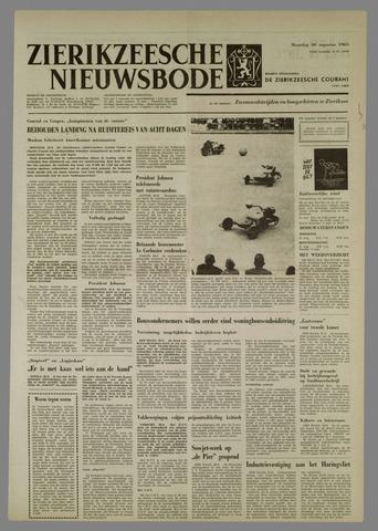 Zierikzeesche Nieuwsbode 1965-08-30