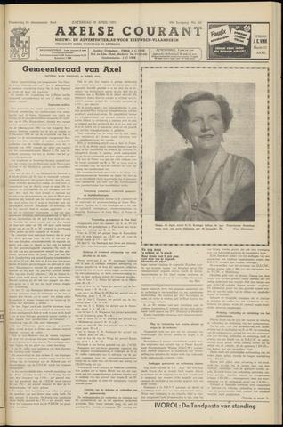 Axelsche Courant 1955-04-30