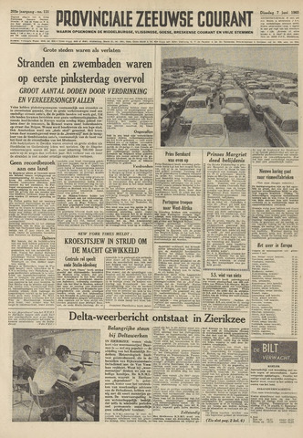 Provinciale Zeeuwse Courant 1960-06-07