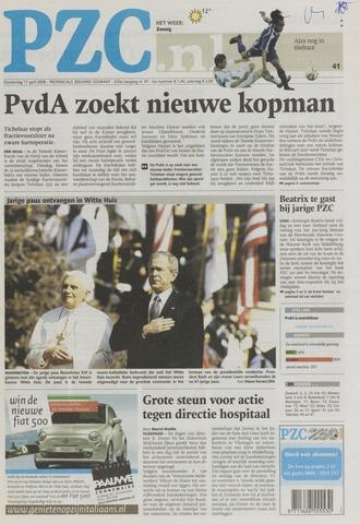 Provinciale Zeeuwse Courant 2008-04-17