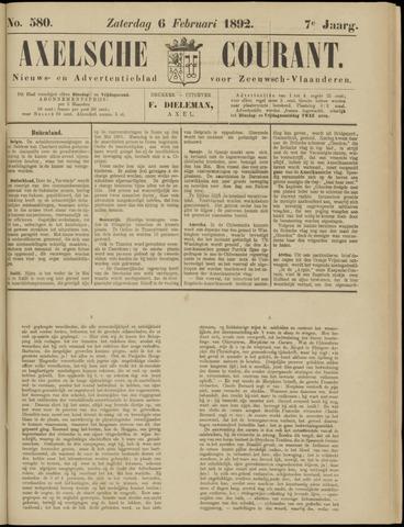 Axelsche Courant 1892-02-06
