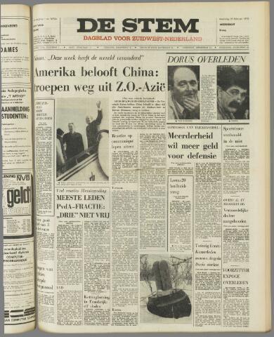de Stem 1972-02-28