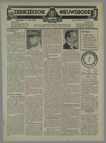 Zierikzeesche Nieuwsbode 1940-06-17