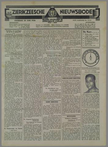 Zierikzeesche Nieuwsbode 1936-06-20