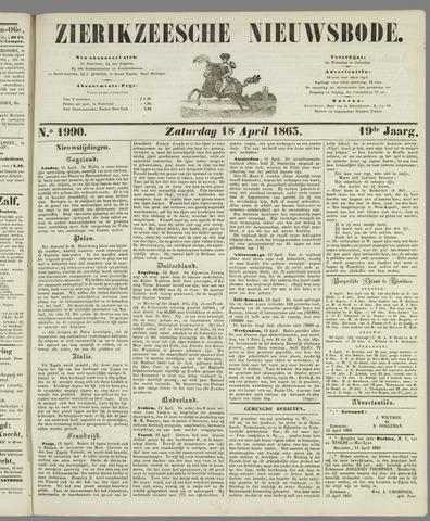 Zierikzeesche Nieuwsbode 1863-04-18