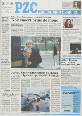 Provinciale Zeeuwse Courant 2001-03-08