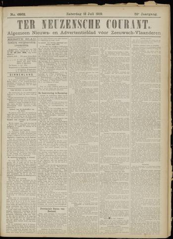 Ter Neuzensche Courant. Algemeen Nieuws- en Advertentieblad voor Zeeuwsch-Vlaanderen / Neuzensche Courant ... (idem) / (Algemeen) nieuws en advertentieblad voor Zeeuwsch-Vlaanderen 1919-07-12