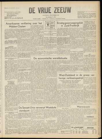 de Vrije Zeeuw 1957-09-09