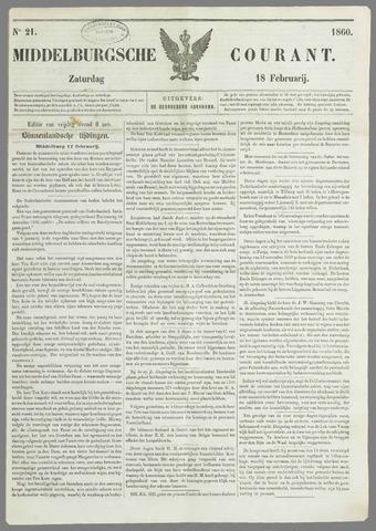 Middelburgsche Courant 1860-02-18