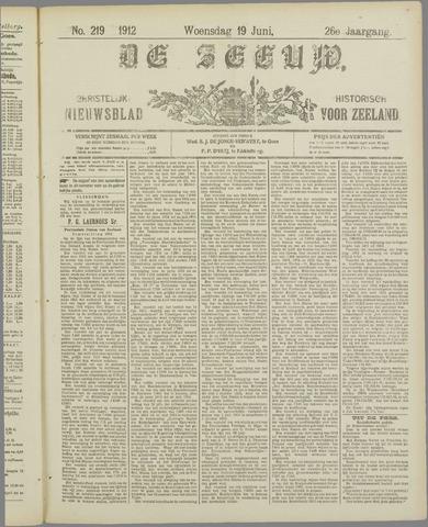 De Zeeuw. Christelijk-historisch nieuwsblad voor Zeeland 1912-06-19