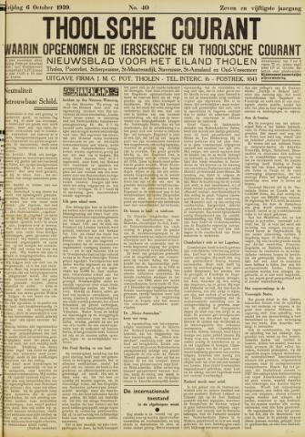 Ierseksche en Thoolsche Courant 1939-10-06
