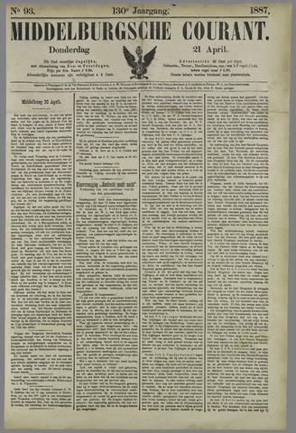 Middelburgsche Courant 1887-04-21