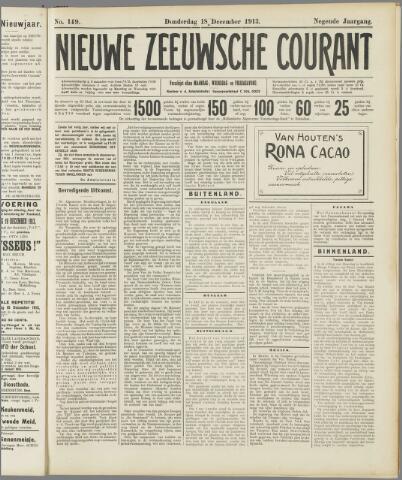 Nieuwe Zeeuwsche Courant 1913-12-18