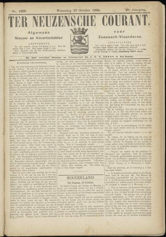 Ter Neuzensche Courant. Algemeen Nieuws- en Advertentieblad voor Zeeuwsch-Vlaanderen / Neuzensche Courant ... (idem) / (Algemeen) nieuws en advertentieblad voor Zeeuwsch-Vlaanderen 1880-10-13