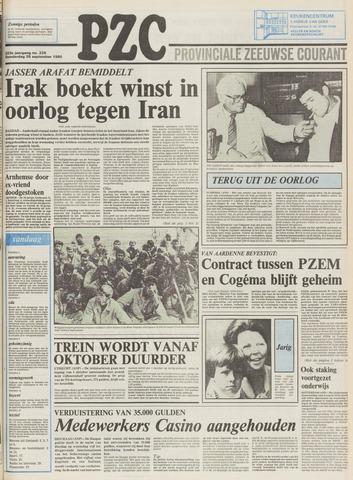 Provinciale Zeeuwse Courant 1980-09-25