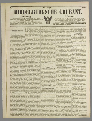 Middelburgsche Courant 1908-01-06
