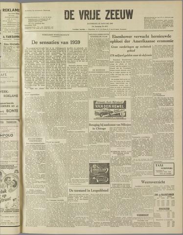 de Vrije Zeeuw 1959-01-10