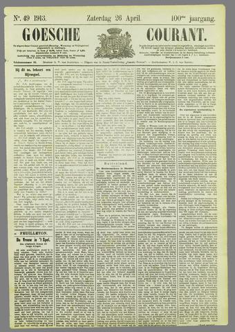 Goessche Courant 1913-04-26