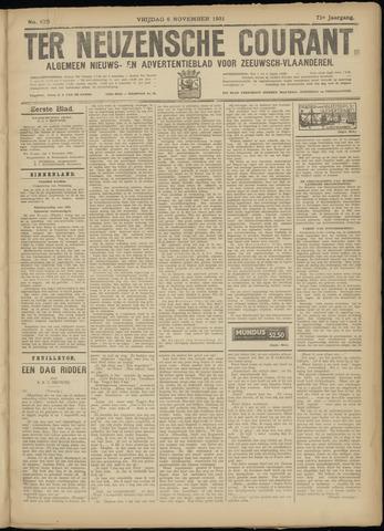Ter Neuzensche Courant. Algemeen Nieuws- en Advertentieblad voor Zeeuwsch-Vlaanderen / Neuzensche Courant ... (idem) / (Algemeen) nieuws en advertentieblad voor Zeeuwsch-Vlaanderen 1931-11-06