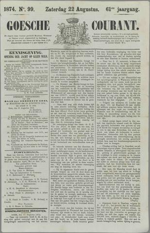 Goessche Courant 1874-08-22