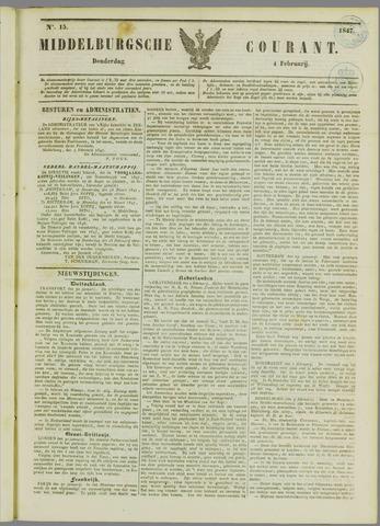 Middelburgsche Courant 1847-02-04