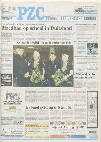 Provinciale Zeeuwse Courant 2002-04-27