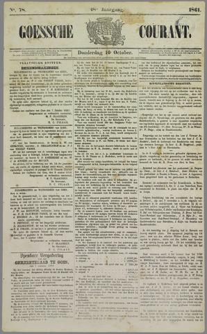 Goessche Courant 1861-10-10