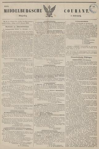 Middelburgsche Courant 1853-02-01