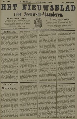 Nieuwsblad voor Zeeuwsch-Vlaanderen 1900-08-11