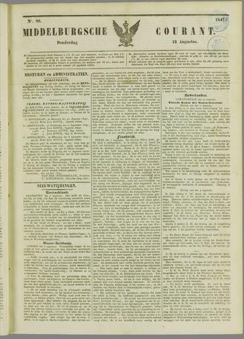 Middelburgsche Courant 1847-08-12