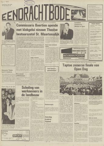 Eendrachtbode (1945-heden)/Mededeelingenblad voor het eiland Tholen (1944/45) 1979-06-07