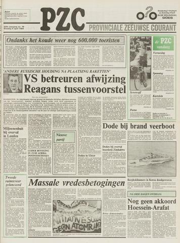 Provinciale Zeeuwse Courant 1983-04-05