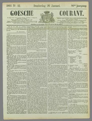 Goessche Courant 1893-01-26