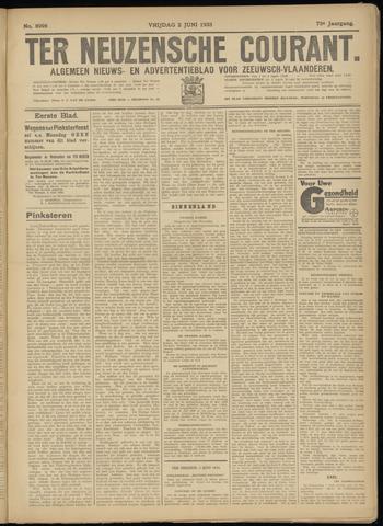 Ter Neuzensche Courant. Algemeen Nieuws- en Advertentieblad voor Zeeuwsch-Vlaanderen / Neuzensche Courant ... (idem) / (Algemeen) nieuws en advertentieblad voor Zeeuwsch-Vlaanderen 1933-06-02
