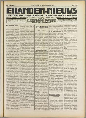 Eilanden-nieuws. Christelijk streekblad op gereformeerde grondslag 1940-09-25