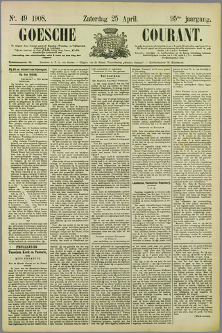 Goessche Courant 1908-04-25