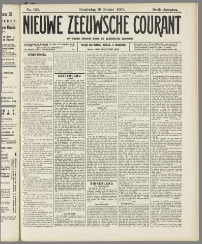Nieuwe Zeeuwsche Courant 1907-10-10
