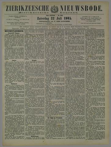 Zierikzeesche Nieuwsbode 1905-07-22