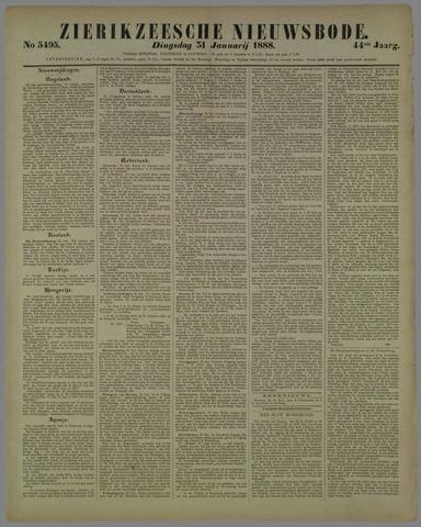 Zierikzeesche Nieuwsbode 1888-01-31