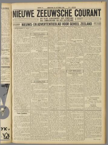 Nieuwe Zeeuwsche Courant 1932-09-29