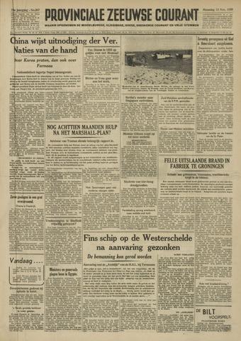 Provinciale Zeeuwse Courant 1950-11-13