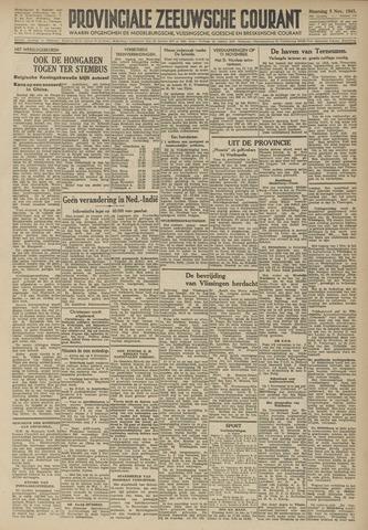 Provinciale Zeeuwse Courant 1945-11-05