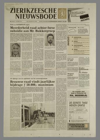 Zierikzeesche Nieuwsbode 1991-10-01