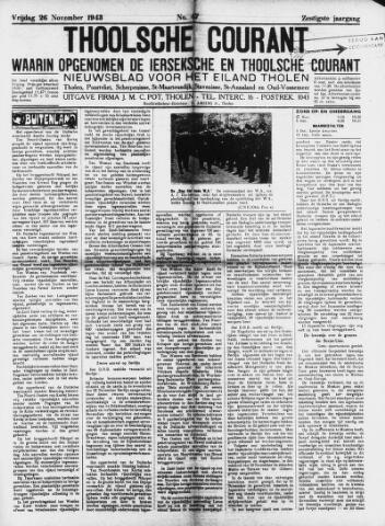 Ierseksche en Thoolsche Courant 1943-11-26