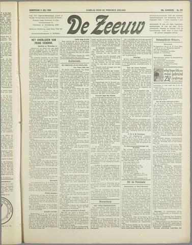 De Zeeuw. Christelijk-historisch nieuwsblad voor Zeeland 1934-07-05