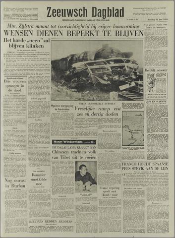 Zeeuwsch Dagblad 1959-06-22